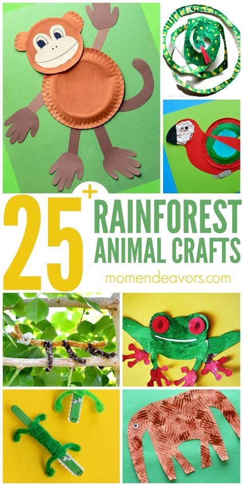 jungle animals preschool 25 rainforest animal crafts for 132