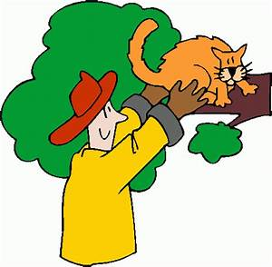 fire_fighter_rescuing_cat clipart - fire_fighter_rescuing ...