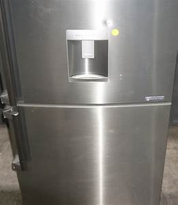 Lg 450l Stainless Steel Bottom Mount Refrigerator  Gn