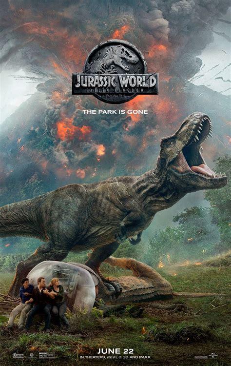 Jurassic World 2 Poster Shuts Down the Park; New Trailer ...