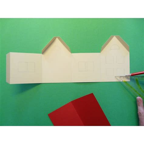 Ein Schönes Kleines Haus Basteln  Basteln Mit Spaß