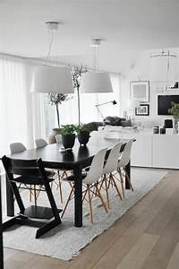 la meilleure table de salle a manger design en 42 photos With salle À manger contemporaine avec table a manger en bois design