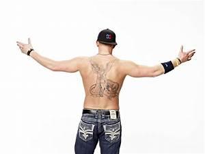 Figure Skater John Coughlin Explains Full Back Tattoo