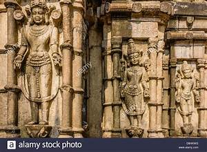 Ancient stone sculptures of Hindu Gods and Goddesses at ...