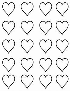 small heart template printable clipart best With small heart template to print