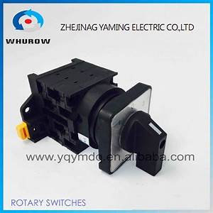 Rotary Universal Switch 3 Position Cam Switch Manual