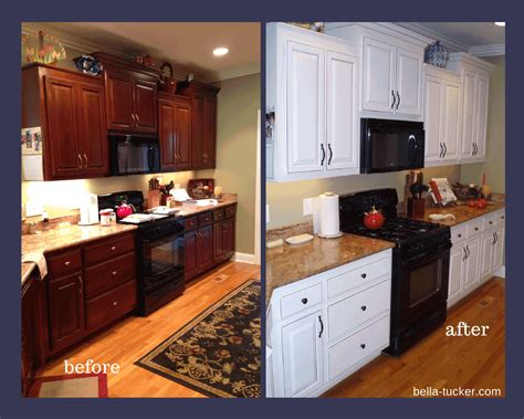 painted kitchens before and after painted cabinets nashville tn before and after photos 129 | BEFORE AFTER 1