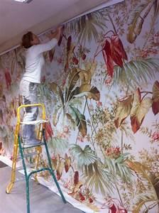 Tissu Mural Tendu : tissu mural tendu pose de tissu mural tendu langon devis et prix pour atelier thierry reyes ~ Nature-et-papiers.com Idées de Décoration