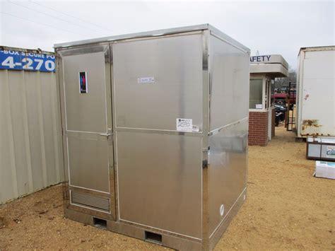 portable restroom    stainless steel bathroom