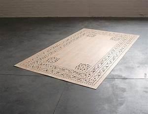 Tapis En Bois : tapis de bois ou vinyle par arzu firuz blog esprit design ~ Teatrodelosmanantiales.com Idées de Décoration