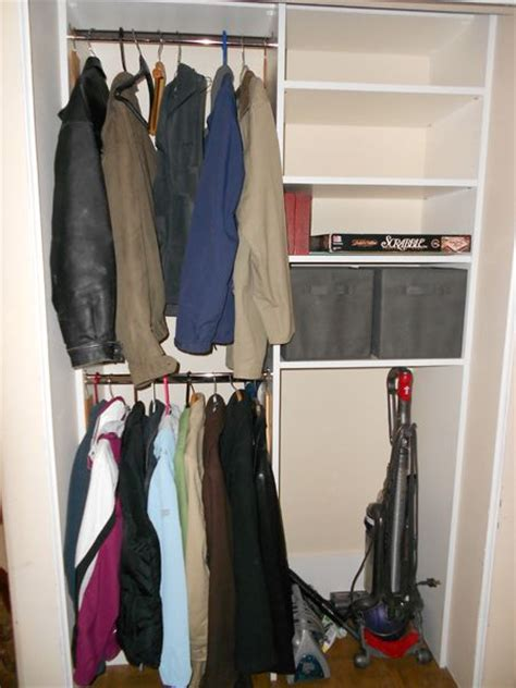 25 best ideas about coat closet organization on
