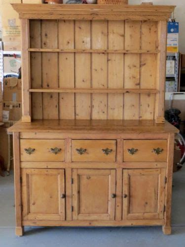 Kitchen Sideboard Hutch by Antique Pine Georgian Hutch Cabinet Buffet Ca 1840
