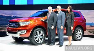 Ford Everest Concept unveiled at 2014 Bangkok Motor Show
