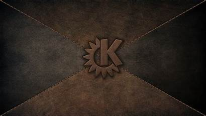Leather Kde Logos Softwares Computers Wallpapers