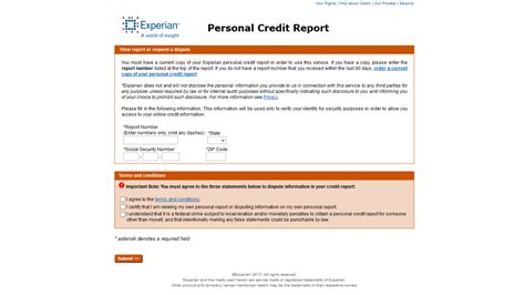 experian credit bureau how to access your annual free credit report by