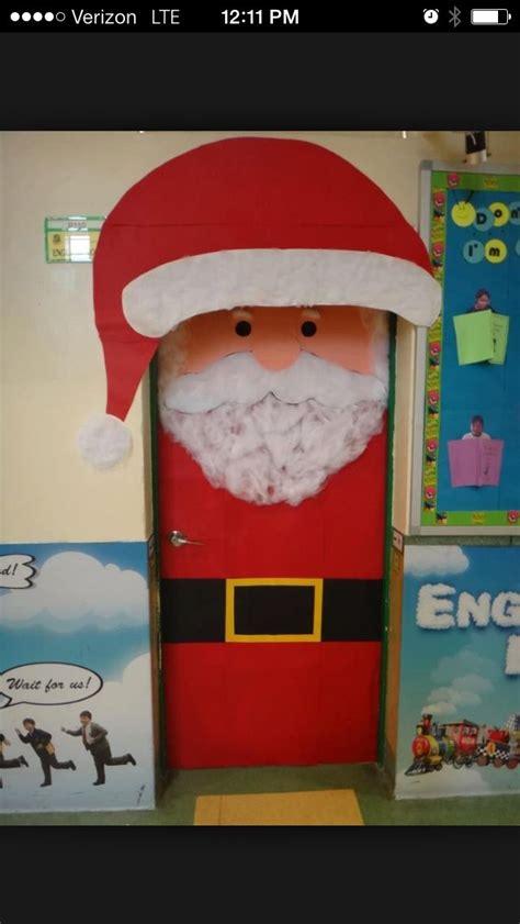 diy santa claus classroom door 25 best crafts decorated doors images on classroom door decorations classroom