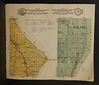 Wisconsin Racine County Map Caledonia / Mt Pleasant ...