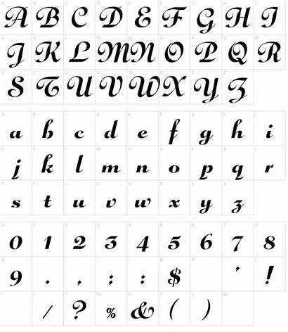 Font Script Gloria Fonts