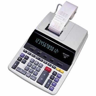 Printing Calculator Sharp El Calendar Accounting Calculators
