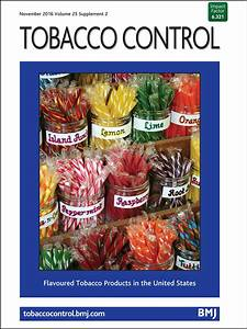 Tobacco industry use of flavourings to promote smokeless ...