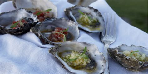 minute oysters recipe  images recipes oyster