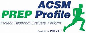 Privit | The American College of Sports Medicine (ACSM ...