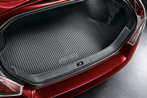 genuine nissan rubber trunk protector tray