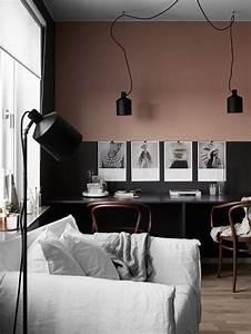 idee deco peinture interieur maison les murs bicolores With peinture mur interieur maison