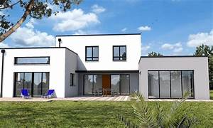 maison cubique jeu de volumes et couleurs vannes depreux With plan de maison cubique 11 maisons sur mesure 44 56 85 depreux construction