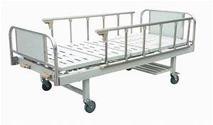 China Stainless Steel Two-crank Manual Bed  A25