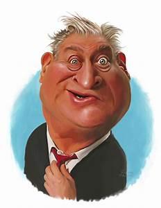 Rodney Dangerfield By rocksaw | Famous People Cartoon ...