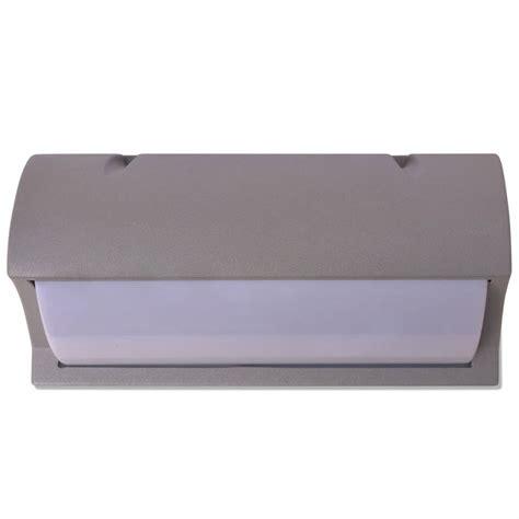 vidaxl co uk vidaxl outdoor wall light grey aluminium