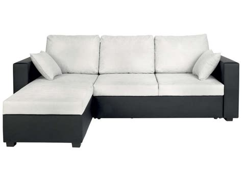 canapé d angle gris et noir canapé d 39 angle convertible et réversible 5 places glenn
