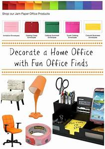 Decorate a Home Office with Fun Office Finds Decorating
