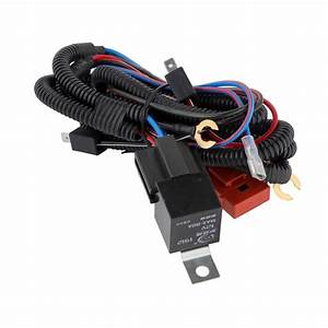 Hot Car Auto Snail Horn 12v Modified Wiring Harness Relay