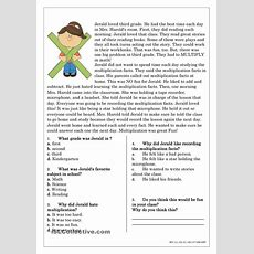 Reading Comprehension For Beginner And Elementary Students 4  Reading  Pinterest Reading