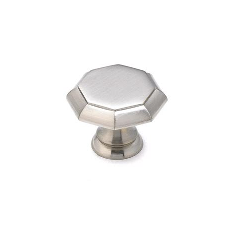 brushed nickel cabinet knobs shop richelieu brushed nickel novelty cabinet knob at