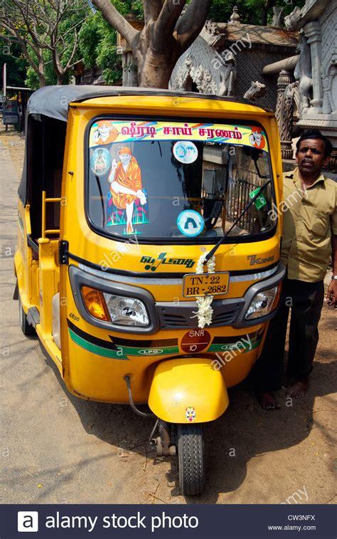 decorated auto rickshaw tuk tuk  taxi rickshaws