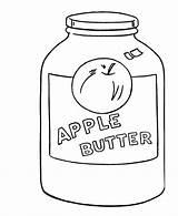 Coloring Jar Jam Sheets Template sketch template