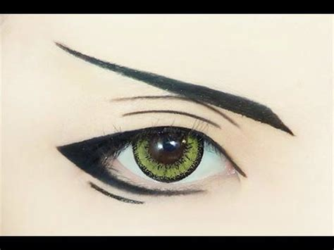 anime eyeliner 17 best ideas about anime eye makeup on anime