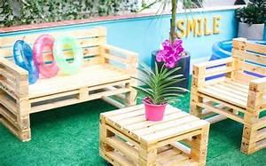Canape De Jardin Bois : comment fabriquer un fauteuil en palette pour ~ Premium-room.com Idées de Décoration