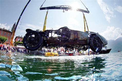 Bugatti From The Lake Continues To Captivate Audiences