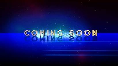 Soon Coming Background 3d Animation Space Opening
