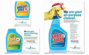 house cleaning housekeeping flyer ad template design With cleaning services advertising templates