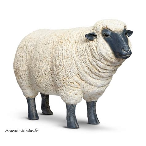 mouton debout en r 233 sine brebis t 234 te haute animal de la ferme jardin achat