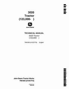John Deere Tractor Technical Manual Download Free