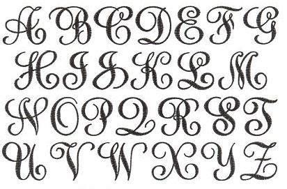 pin de katie mullikin em monograms letras bonitas  convites fontes de letras diferentes