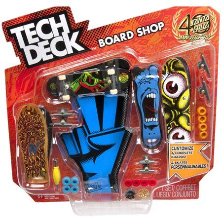 Tech Deck Board Shop, Colors And Styles May Vary Walmartcom