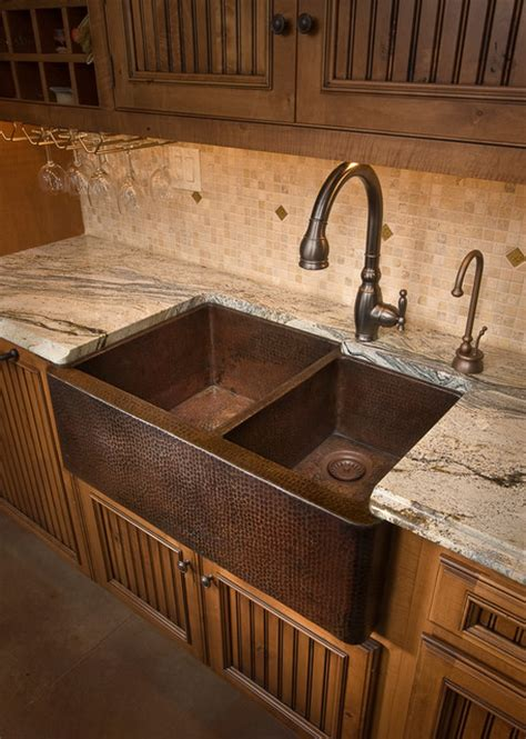 hammered nickel farmhouse sink hammered copper kitchen sinks captainwalt com