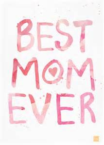 Best Mom Ever Card Greeting